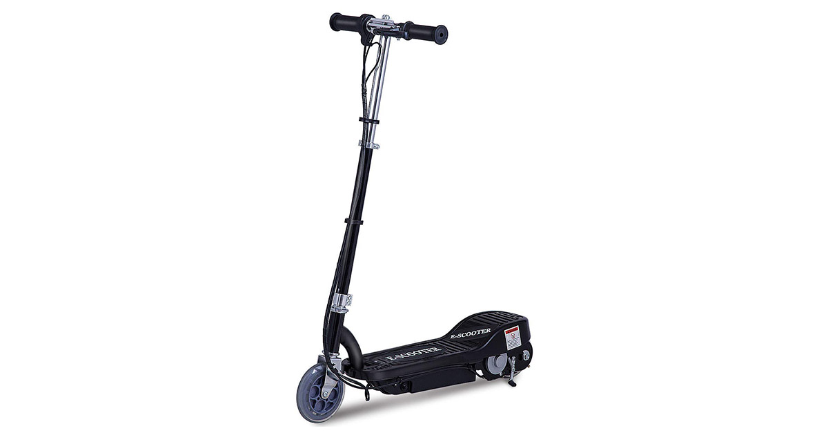 Costzon 24 Volt Lightweight Electric Scooter for Teens with Rechargeable Battery image