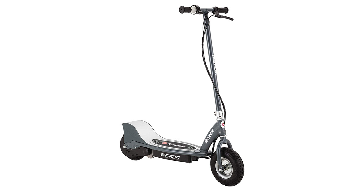 Razor E300 13113614 Electric 24 Volt Rechargeable Motorized Ride On Kids Scooter image