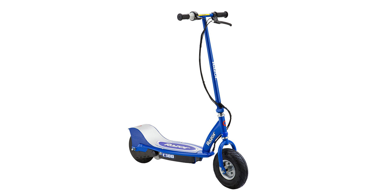 Razor E300 13113640 Electric 24 Volt Rechargeable Motorized Ride On Kids Scooter image