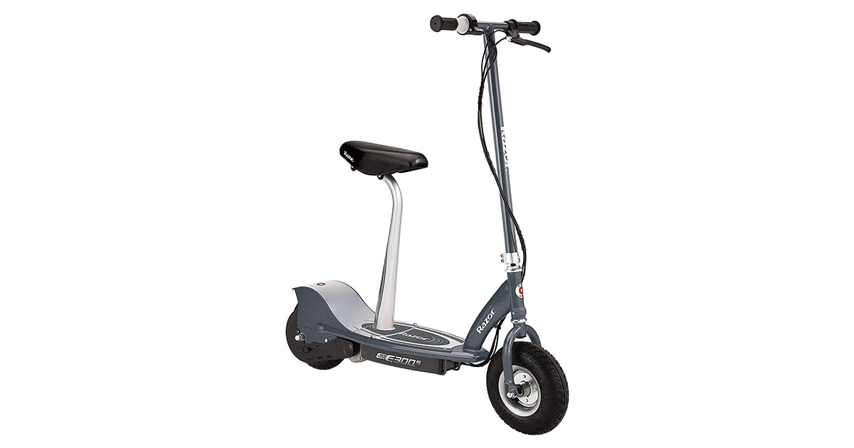 Razor E300S 13116214 Seated Electric Scooter image