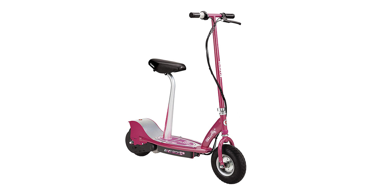 Razor E300S 13116261 Seated Electric Scooter image