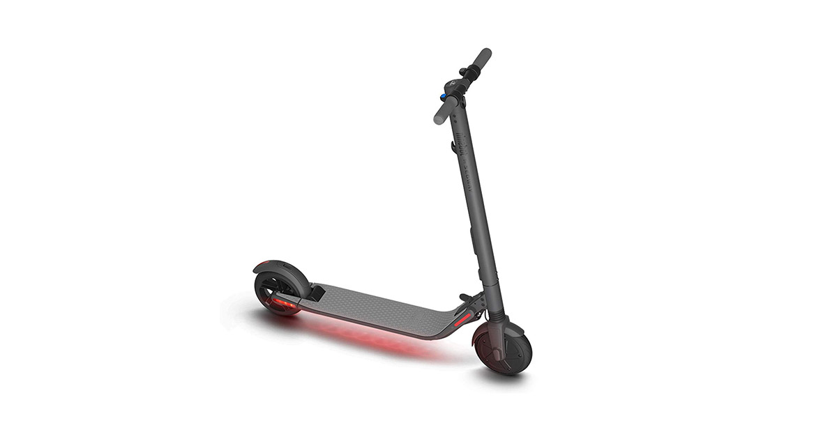 Segway 40.02.0000.60 Ninebot ES2 Folding Electric Kick Scooter image