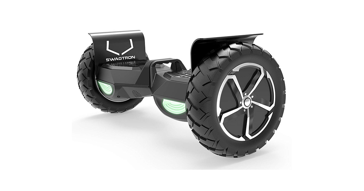 Swagtron Swagboard Outlaw 836882 T6 BLACK Off Road Hoverboard image