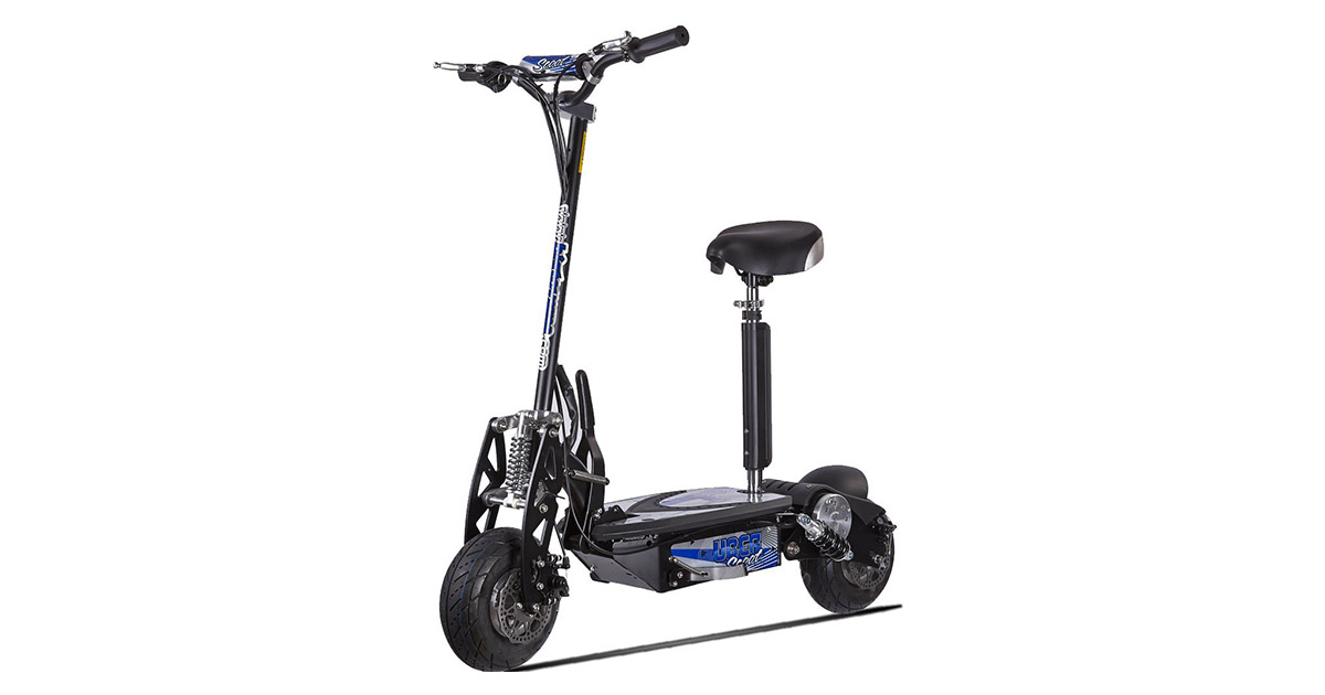 UberScoot Evo-1000 Electric Scooter by Evo Powerboards image