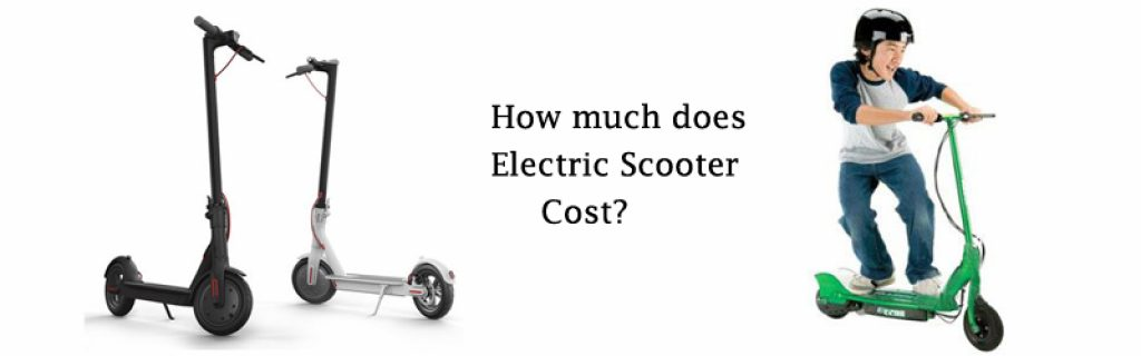 how much does a electric scooter cost Image