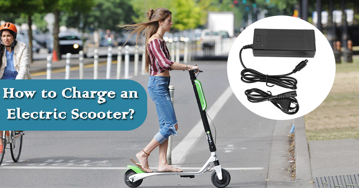 How to Charge an Electric Scooter image